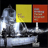 Louis Armstrong. The Best Live concert. Jazz In Paris, Vol.1