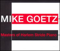 Masters Of Harlem Stride Piano