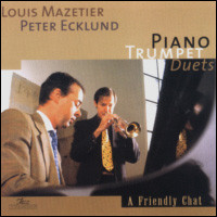 A Friendly Chat. Piano Trumpet Duets