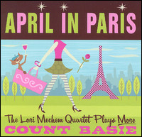 April In Paris. The Lori Mechem Quartet Plays More Count Basie