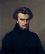 Ambroise Thomas - © Painting by Jean-Hippolyte Flandrin, 1834 (wikipedia)