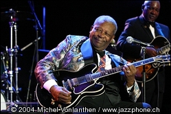 B.B. King - © 2004 mvonlanthen