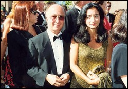 Paul Shaffer - © Alan Light (Paul Shaffer and wife-Cathy Vasapoli- on the red carpet at the 1992 Emmy Awards )
